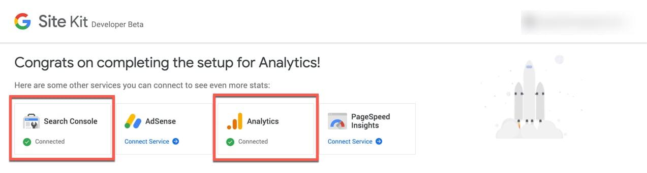 Enkelt att länka ihop Search Console och Analytics med webbplatsen