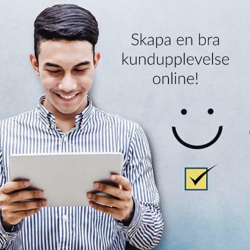 Skapa en bra kundupplevelse online