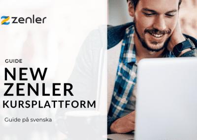 New Zenler kursplattform   Guide på svenska